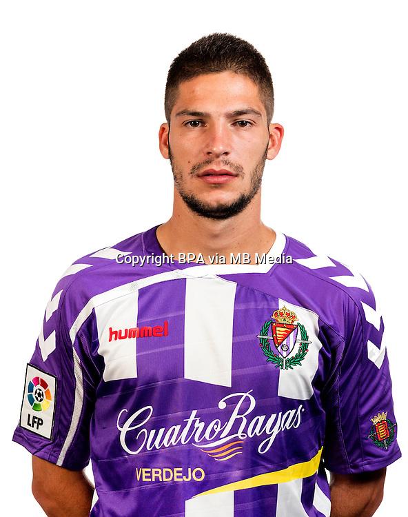 Spain - La Liga Adelante 2015-2016 / <br /> ( Real Valladolid C.F. ) - <br /> Cayetano Quintana Hernandez