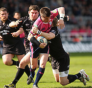 Picture by Steven Hadlow/Focus Images Ceri Sweeny of Cardiff Blues during their Amlin Challenge Cup quarter-final match
