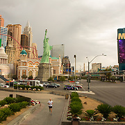 New York, New York Hotel and Casino on the Las Vegas strip.