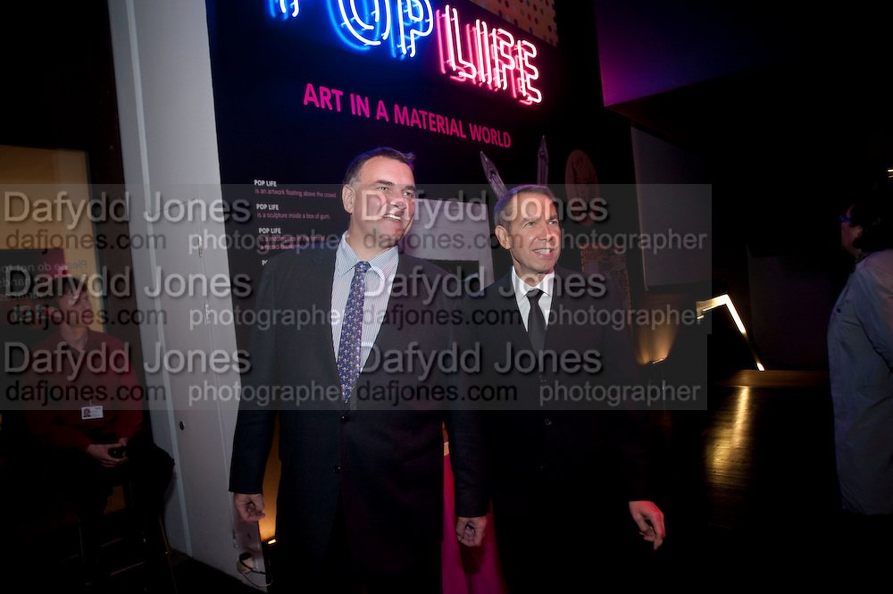 JEFF KOONS, Pop Life in a Material World. Tate Modern. London. 29 September 2009.