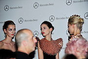 Mercedes-Benz Fashion Week: Backstage