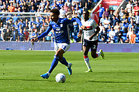 Football - 2019 / 2020 Sky Bet (EFL) Championship - Cardiff City vs. Middlesbrough<br /> <br /> Josh Murphy of Cardiff City on the attack, at the Cardiff City Stadium.<br /> <br /> COLORSPORT/WINSTON BYNORTH