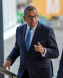 © Licensed to London News Pictures. 30/09/2019. Manchester, UK. MP James Cleverly on the second day of the Conservative Party Conference at Manchester Central in Manchester. Photo credit: Andrew McCaren/LNP
