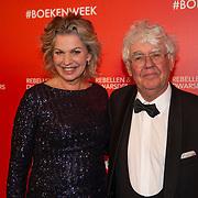 NLD/Amsterdam/20200307 - Boekenbal 2020, Annejet van der Zijl en Geert Mak