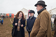 REBECCA BROOKS;  JAMES BROOKS; JEREMY CLARKSON, The Heythrop Hunt Point to Point. Cocklebarrow. 24 January 2016