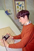 Computer pattern grader, SR. Gent. Barnsley 26/2/91.