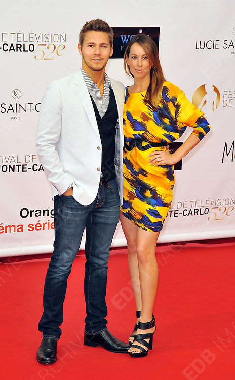 10.JUNE.2012. MONACO<br /> <br /> SCOTT CLIFTON AND NICOLE LAMPSON ATTEND THE OPENING CEREMONY OF THE 52ND MONTE CARLO TELEVISION FESTIVAL HELD AT THE GRAMALDI FORUM.  <br /> <br /> BYLINE: EDBIMAGEARCHIVE.CO.UK<br /> <br /> *THIS IMAGE IS STRICTLY FOR UK NEWSPAPERS AND MAGAZINES ONLY*<br /> *FOR WORLD WIDE SALES AND WEB USE PLEASE CONTACT EDBIMAGEARCHIVE - 0208 954 5968*