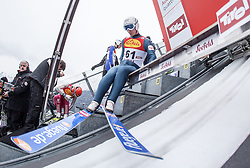 17.01.2014, Casino Arena, Seefeld, AUT, FIS Nordische Kombination, Seefeld Triple, Skisprung, im Bild Lukas Klapfer (AUT) // Lukas Klapfer (AUT) during Ski Jumping at FIS Nordic Combined World Cup Triple at the Casino Arena in Seefeld, Austria on 2014/01/17. EXPA Pictures © <br /> 2014, PhotoCredit: EXPA/ JFK
