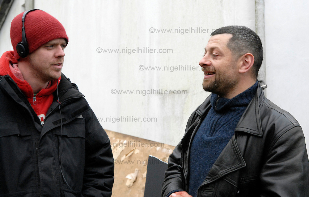 Paul Andrew Williams and Andy Serkis