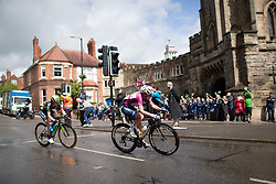 Anna van der Breggen (NED) of Boels-Dolmans Cycling Team rides past the Castle Hill Baptist Church in Warwick during Stage 3 of the OVO Energy Women's Tour - a 151 km road race, between Atherstone and Royal Leamington Spa on June 9, 2017, in Warwickshire, United Kingdom. (Photo by Balint Hamvas/Velofocus.com)