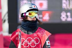 February 19, 2018 - Pyeongchang, SOUTH KOREA - 180219 Miyabi Onitsuka of Japan competes in the Women's Big Air Qualification during day ten of the 2018 Winter Olympics on February 19, 2018 in Pyeongchang..Photo: Carl Sandin / BILDBYRN / kod CS / 57999_306 (Credit Image: © Carl Sandin/Bildbyran via ZUMA Press)