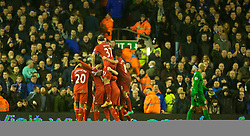 28.01.2014, Anfield, Liverpool, ENG, Premier League, FC Liverpool vs FC Everton, 23. Runde, im Bild Liverpool's Daniel Sturridge celebrates scoring the third goal against Everton // during the English Premier League 23th round match between Liverpool FC and Everton FC at Anfield in Liverpool, Great Britain on 2014/01/29. EXPA Pictures &copy; 2014, PhotoCredit: EXPA/ Propagandaphoto/ David Rawcliffe<br /> <br /> *****ATTENTION - OUT of ENG, GBR*****