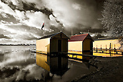 boatsheds at Lake Wendouree, Ballarat