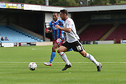 Bradden Inman  during the Sky Bet League 1 match between Scunthorpe United and Crewe Alexandra at Glanford Park, Scunthorpe, England on 15 August 2015. Photo by Ian Lyall.