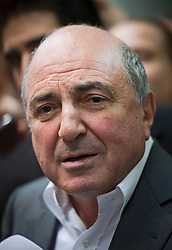 © London News Pictures. FILE PICTURE. London, UK. Russian Oligarch Boris Berezovsky who has been found dead at his home in Surrey, England on March 23, 2013. The circumstances of the death remain unknown.. Photo credit:/LNP