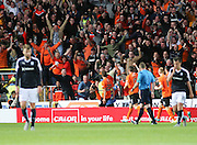 Dundee United's Blair Spittal celebrates after scoring his first goal - Dundee United v Dundee at Tannadice<br /> - Ladbrokes Premiership<br /> <br />  - © David Young - www.davidyoungphoto.co.uk - email: davidyoungphoto@gmail.com