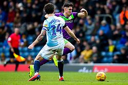 Callum O'Dowda of Bristol City goes past Charlie Mulgrew of Blackburn Rovers - Mandatory by-line: Robbie Stephenson/JMP - 09/02/2019 - FOOTBALL - Ewood Park - Blackburn, England - Blackburn Rovers v Bristol City - Sky Bet Championship
