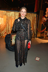 EUGENIE NIARCHOS at 'The World's First Fabulous Fund Fair' in aid of the Naked Heart Foundation hosted by Natalia Vodianova and Karlie Kloss at The Roundhouse, Chalk Farm Road, London on 24th February 2015.