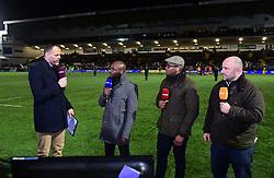BT Sport  - Mandatory by-line: Alex Davidson/JMP - 22/12/2017 - RUGBY - Sixways Stadium - Worcester, England - Worcester Warriors v London Irish - Aviva Premiership