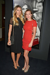 Left to right, SABRINA PERCY and LADY TATIANA MOUNTBATTEN at an evenig of Jewellery & Photography to launch the Buccellati 'Opera Collection' held at Spencer House, London on 21st October 2015.