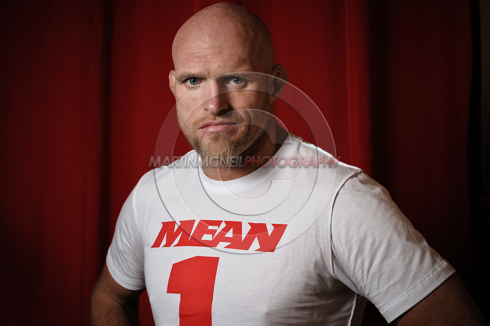 "A portrait of mixed martial arts athlete Keith ""The Dean of Mean"" Jardine"