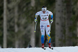 13.12.2014, Davos, SUI, FIS Langlauf Weltcup, Davos, 10 km, Frauen, im Bild Charlotte Kalla (SWE) // during Cross Country, 10km, ladies at FIS Nordic world cup in Davos, Switzerland on 2014/12/13. EXPA Pictures &copy; 2014, PhotoCredit: EXPA/ Freshfocus/ Christian Pfander<br /> <br /> *****ATTENTION - for AUT, SLO, CRO, SRB, BIH, MAZ only*****