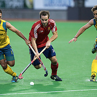 MELBOURNE - Champions Trophy men 2012<br /> Australia v England 2-0<br /> foto: Nick Catlin and Jamie Dwyer (L)<br /> FFU PRESS AGENCY COPYRIGHT FRANK UIJLENBROEK