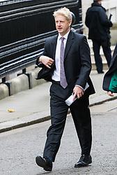 London, November 29 2017. Science Minister Joe Johnson is seen walking up Downing Street to a meeting at No. 10. © Paul Davey