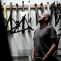 Rob Roskopp, ex-pro skateboarder, Santa cruz bikes owner, California.