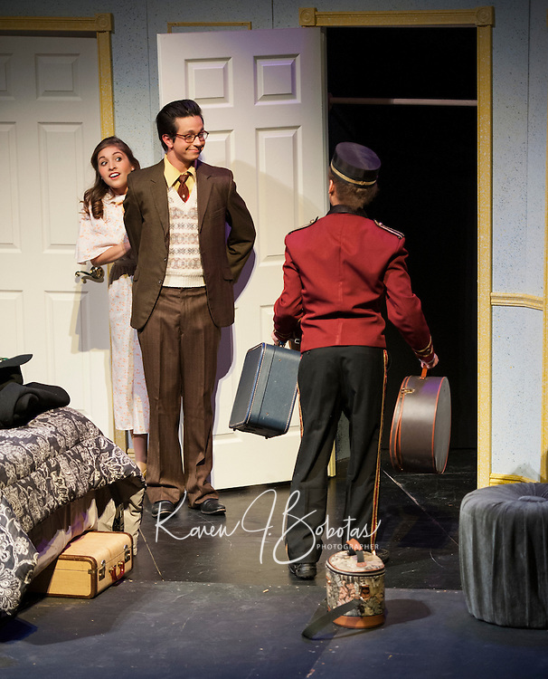 "St Paul's School Theater production of ""Lend Me a Tenor""  November 8, 2012"