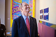 08 OCTOBER 2010 - PHOENIX, AZ:  Terry Goddard (CQ) talks to women supporters at his campaign headquarters in downtown Phoenix Friday, Oct. 8 before a press conference. Goddard lost the election to sitting Governor Jan Brewer, a conservative Republican.     PHOTO BY JACK KURTZ