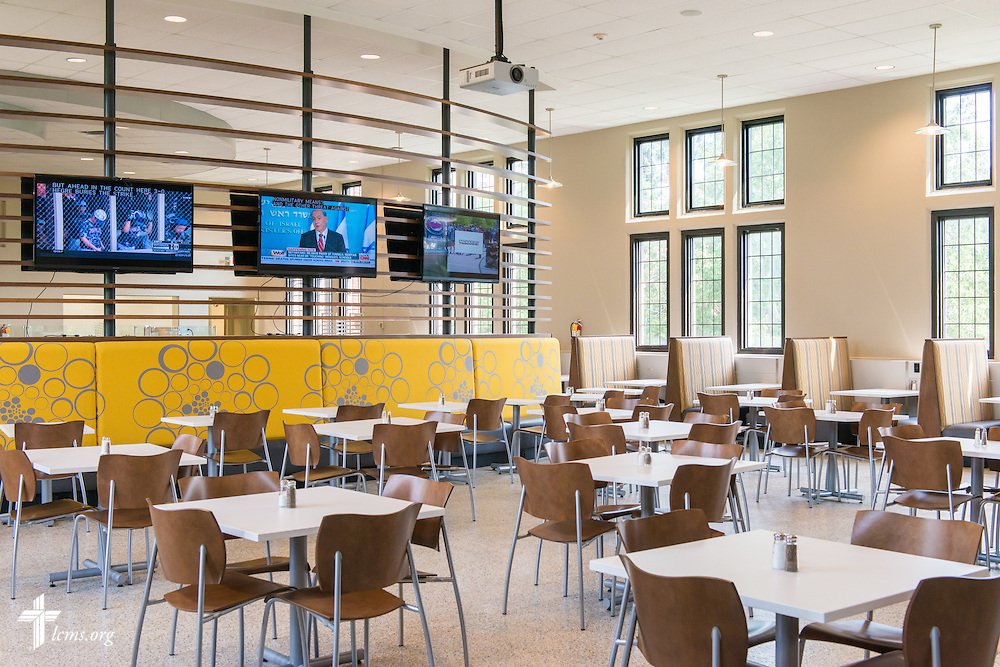 The dining hall at Concordia University, Saint Paul, on Wednesday, August 6, 2014, in St. Paul, Minn.   LCMS Communications/Erik M. Lunsford
