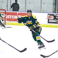 2nd year forward, Ben Duperreault (20) of the Regina Cougars during the Men's Hockey Home Game on Sat Jan 19 at Co-operators Center. Credit: Arthur Ward/Arthur Images