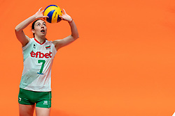 29-05-2019 NED: Volleyball Nations League Netherlands - Bulgaria, Apeldoorn<br /> Lora Kitipova #7 of Bulgaria
