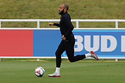 England midfielder Nathan Redmond during the training session for England at St George's Park National Football Centre, Burton-Upon-Trent, United Kingdom on 28 May 2019.