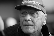 April 20, 2014 - Shanghai, China. UBS Chinese Formula One Grand Prix. Nikki Lauda, Mercedes F1 team