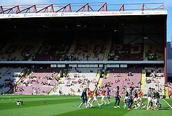 Bristol rovers team warm up.<br />  - Mandatory by-line: Alex James/JMP - 17/09/2016 - FOOTBALL - Coral Windows Stadium - Bradford, England - Bradford City v Bristol Rovers - Sky Bet League One