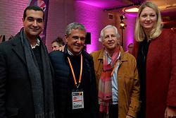 10–01-2020 NED: Side-events during OQT, Apeldoorn<br /> VIP space / coach José Roberto Guimaraes, Pieter Murphy,  Elizaveta Tishchenko