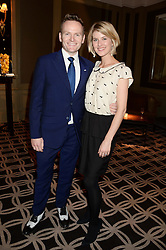 JOE STILGOE son of Sir Richard Stilgoe and his wife KATIE STILGOE at the 90th birthday party for Nicholas Parsons held at the Hyatt Churchill Hotel, Portman Square, London on 8th October 2013.