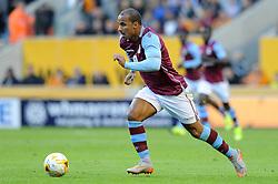 Gabby Agbonlahor of Aston Villa - Mandatory by-line: Dougie Allward/JMP - 07966386802 - 28/07/2015 - SPORT - FOOTBALL - Wolverhampton,England - Molineux Stadium - Wolves v Aston Villa - Pre-Season Friendly