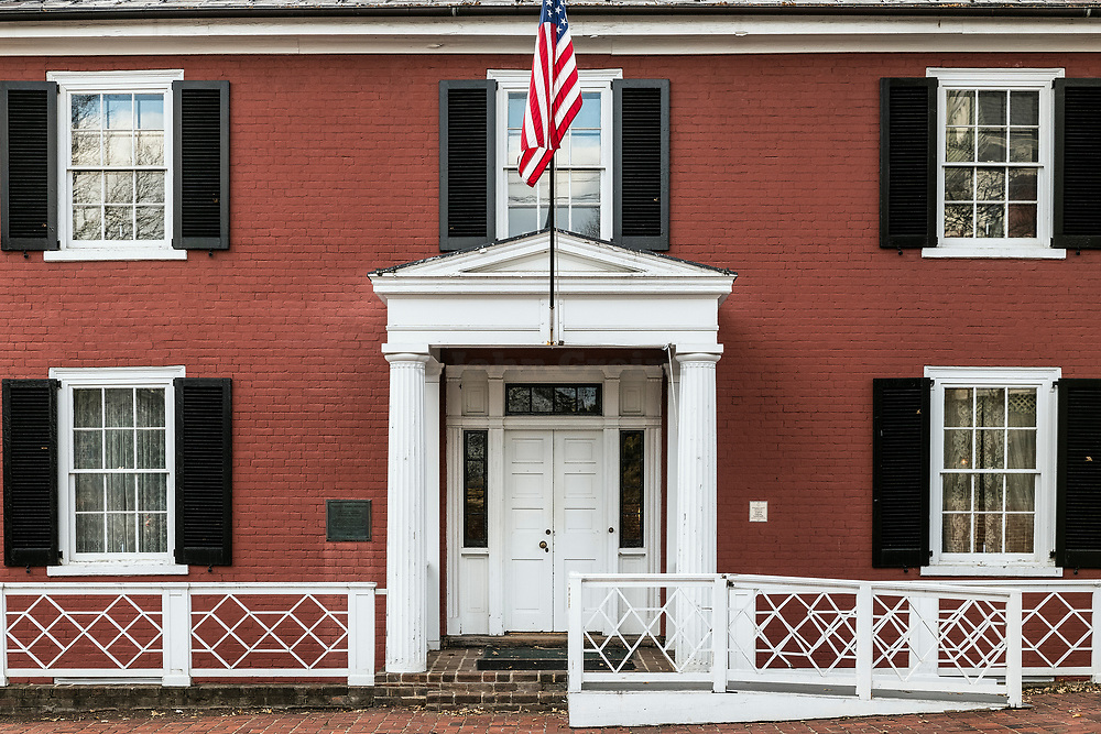 Birthplace of President Woodrow Wilson, Staunton, Virginia, USA.