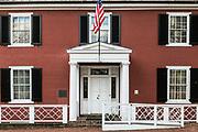 Birthplace of President Woodrow Wilson, Staunton, Virginia, USA.