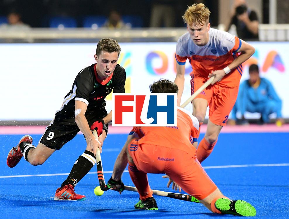 Odisha Men's Hockey World League Final Bhubaneswar 2017<br /> Match id:16<br /> Germany v Netherlands<br /> Foto: Johannes Grosse (Ger) <br /> COPYRIGHT WORLDSPORTPICS FRANK UIJLENBROEK