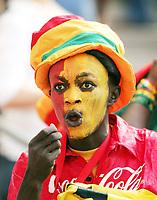 Photo: Chris Ratcliffe.<br /> Czech Republic v Ghana. Group E, FIFA World Cup 2006. 17/06/2006.<br /> Ghana fan.