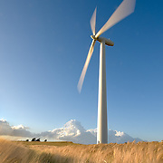 Denmark was a pioneer in developing commercial wind power during the 1970s, and today a substantial share of the wind turbines around the world are produced by Danish manufacturers such as Vestas and Siemens Wind Power along with many component suppliers. Wind power produced the equivalent of 42.1% of Denmark's total electricity consumption in 2015, increased from 33% in 2013, and 39% in 2014. In 2012 the Danish government adopted a plan to increase the share of electricity production from wind to 50% by 2020, and to 84% in 2035. Denmark had the 6th best energy security in the world in 2014.