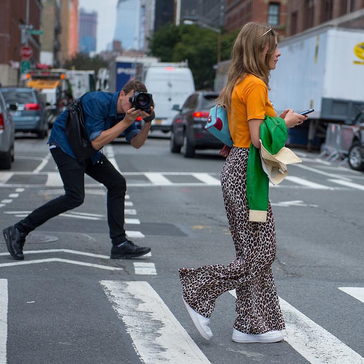 Street Style Scene, Outside Desigual SS2018