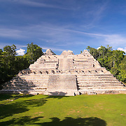 Temple of Canaa, Caracol Mayan Site, Cayo, Belize