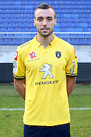 Florin BERENGUER - 04.10.2014 - Photo officielle Sochaux - Ligue 2 2014/2015<br /> Photo : Icon Sport