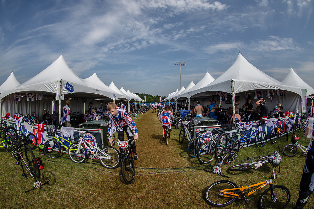 At the 2017 UCI BMX World Championships in Rock Hill, USA