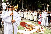 Procissão de Corpus Christi no entorno da Praça XV de Novembro.. Florianópolis, Santa Catarina, Brasil. / Corpus Christi Procession. Florianopolis, Santa Catarina, Brazil.
